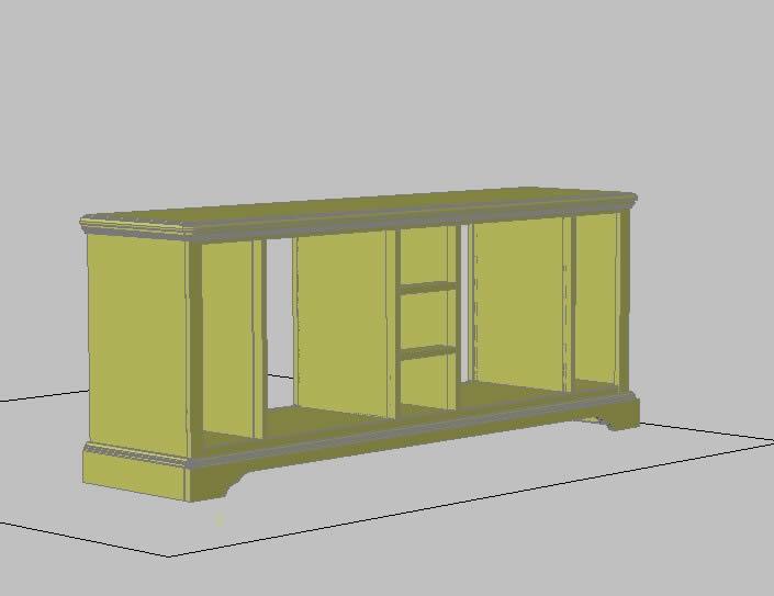 Planos de Mueble 3d, en Dormitorios – Muebles equipamiento