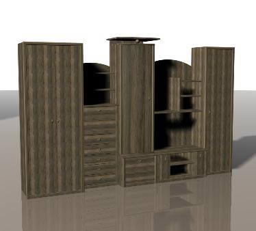 Mueble 3d, en Muebles varios – Muebles equipamiento
