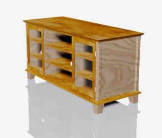 imagen Mueble 3d - estanteria, en Muebles varios - Muebles equipamiento