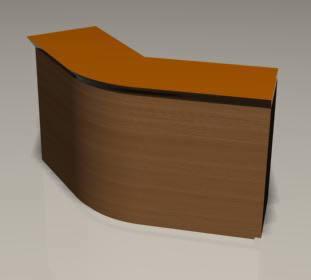 Mueble counter 3d, en Supermercados y tiendas – Muebles equipamiento