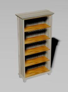 Mueble estante 3d, en Muebles varios – Muebles equipamiento