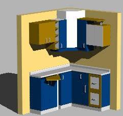 imagen Mueble mostrador melamina-formica, en Cocinas - Muebles equipamiento