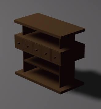 Mueble para tv 3d, en Muebles varios – Muebles equipamiento