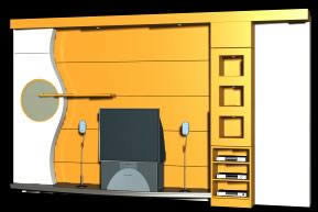 imagen Mueble para tv 3d, en Salas de estar y tv - Muebles equipamiento