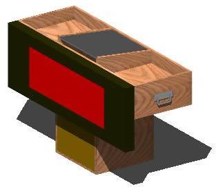 Planos de Mueble para un discplay 3d, en Muebles varios – Muebles equipamiento