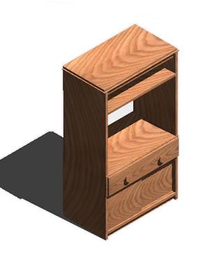 Planos de Mueble tv 3d con materiales, en Estanterías y modulares – Muebles equipamiento