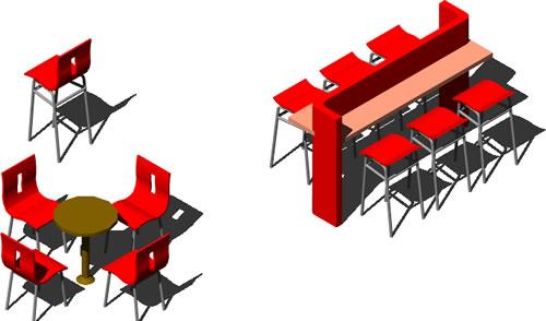 imagen Muebles cafe, en Bares y restaurants - Muebles equipamiento