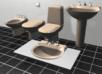 Muebles de baño, en Baños – Muebles equipamiento