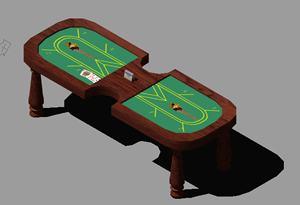 Planos de Muebles de casino, en Casinos y casas de juego – Muebles equipamiento