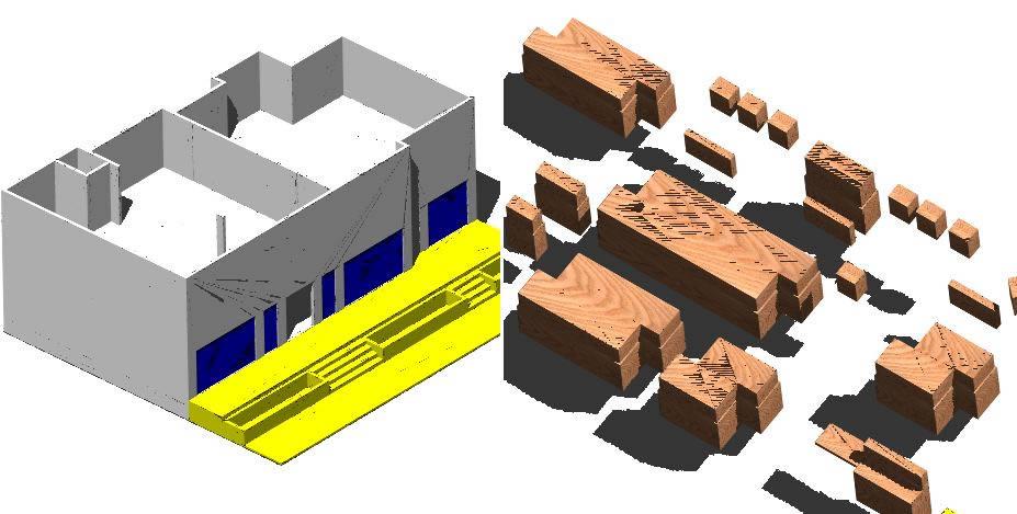 Planos de Muebles de joyeria 3d, en Muebles varios – Muebles equipamiento