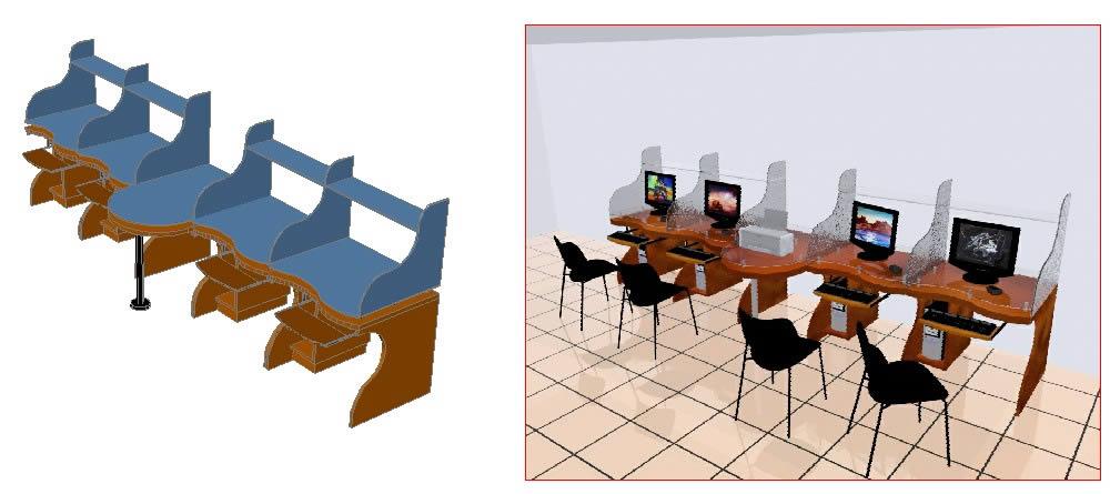 imagen Muebles de oficina, en Equipamiento bancario - Muebles equipamiento