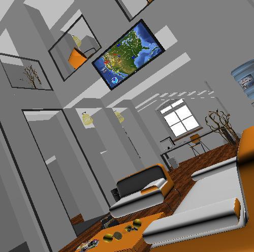 imagen Muestras del interior de una casa, en Salas de estar y tv - Muebles equipamiento