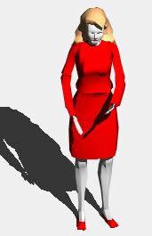 Planos de Mujer 3d, en 3d – Personas
