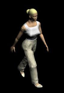 Mujer 3d, en 3d – Personas