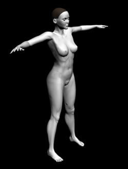 imagen Mujer en 3d, en 3d - Personas
