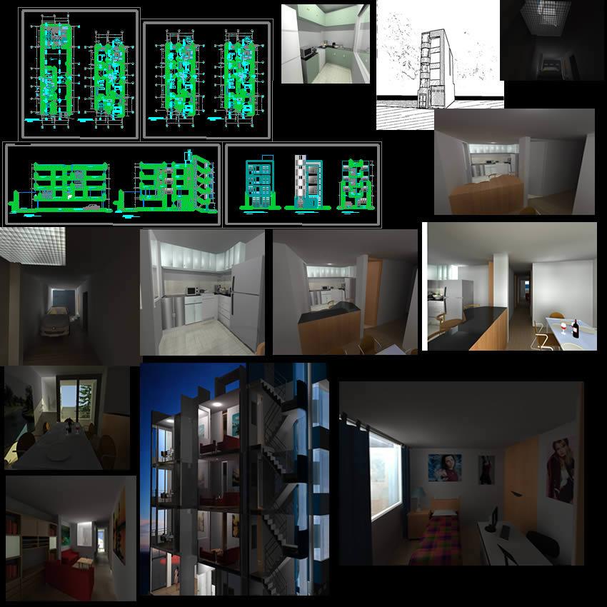 imagen Multifamiliar, en Vivienda multifamiliar - condominios - Proyectos