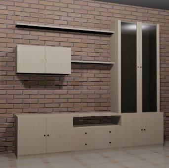 Multimueble 3d, en Estanterías y modulares – Muebles equipamiento