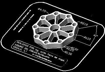 imagen Multipuerto, en Ejercicios varios - Dibujando con autocad