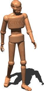 imagen Muñeco figura humana 3d, en 3d - Personas