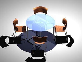 Planos de Murebles  de comedor, en Mesas y juegos de comedor 3d – Muebles equipamiento