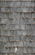 Muro de ladrillo de hormigón, en Ladrillo visto – Texturas