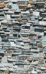 Muro de piedra laja, en Piedra – Texturas