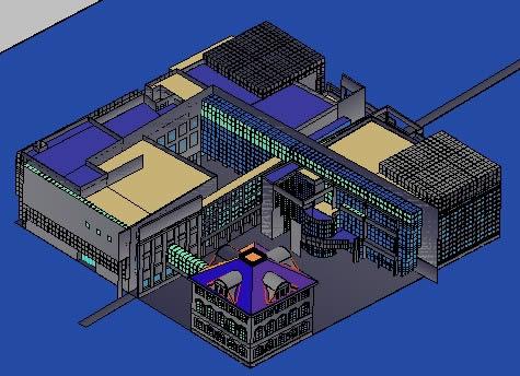 Planos de Museo 3d, en Obras famosas – Proyectos