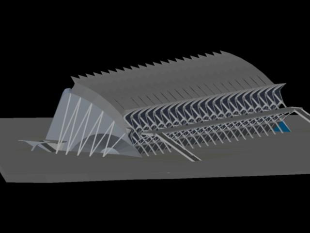 imagen Museo de las artes y ciencias 3d, en Obras famosas - Proyectos