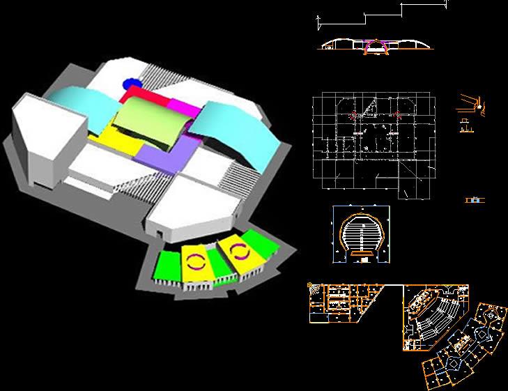 Planos de Museo, en Centros culturales salas de exposición museos y stands – Proyectos