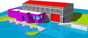 Planos de Nave de 200m2, en Plantas industriales – Proyectos