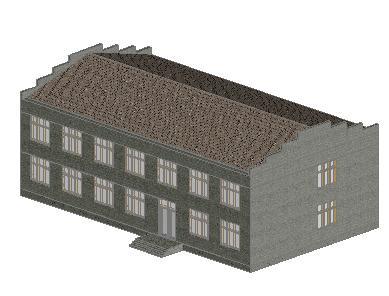 imagen Neftqazlayihe institute 3d, en Depósitos almacenes y bodegas - Proyectos