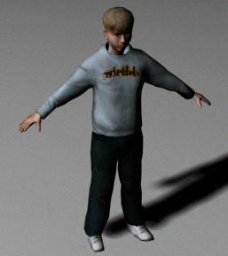 imagen Niño 3d, en 3d - Personas