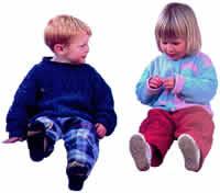 Niños sentados, en Fotografías para renders – Personas