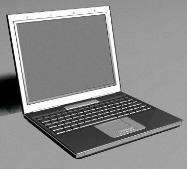 imagen Notebook 3d, en Informática - Muebles equipamiento