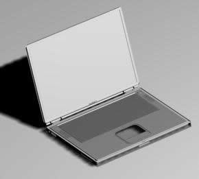 imagen Notebook powerbook g4 3d, en Informática - Muebles equipamiento