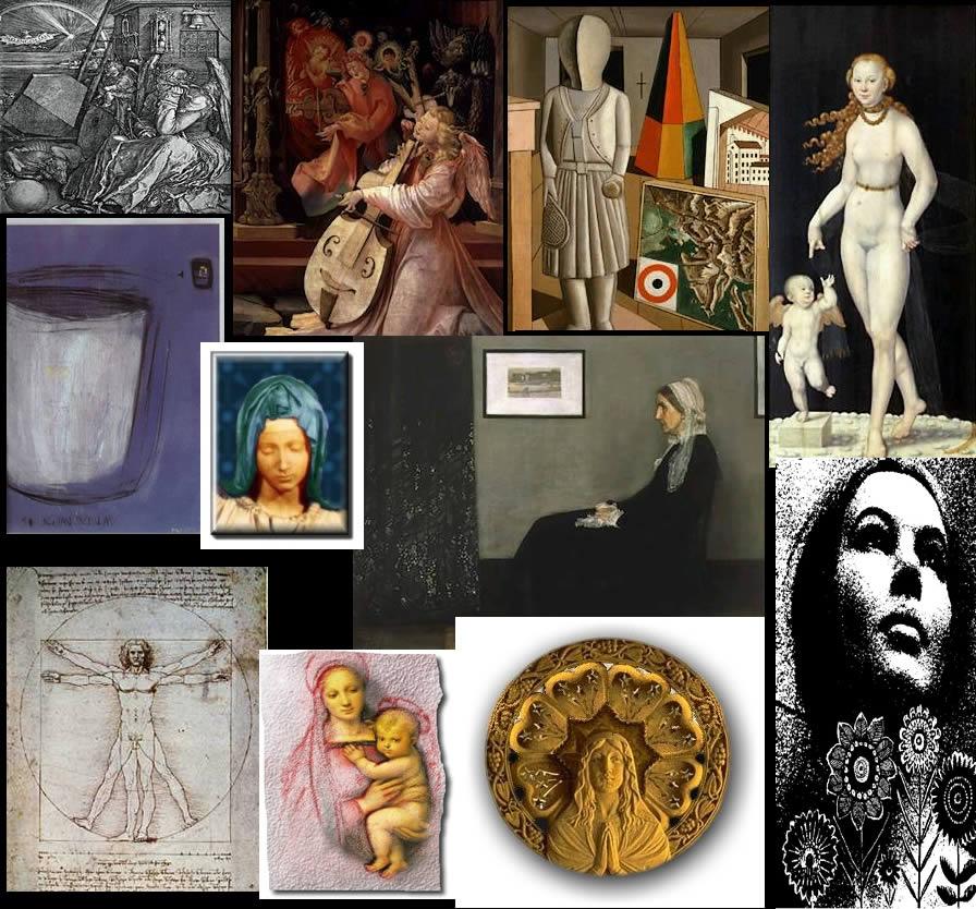 Obras de arte, en Cuadros – Texturas