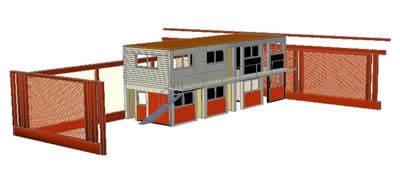 Planos de Oficina de taller 3d, en Talleres – Proyectos
