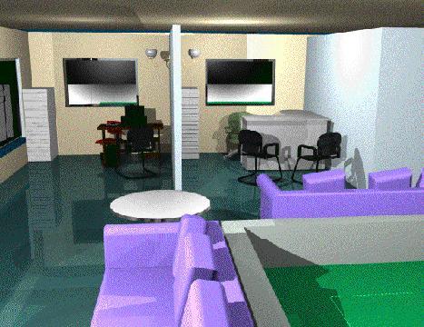 Planos de Oficina interior y exterior en 3d, en Oficinas bancos y administración – Proyectos