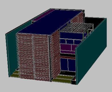 Planos de Oficinas cadavid 3d, en Comercios varios – Proyectos