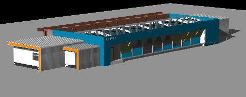 Planos de Oficinas cpp – modelo 3d, en Oficinas bancos y administración – Proyectos