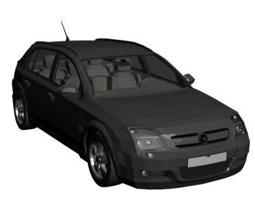 Opel signum 3d, en Automóviles en 3d – Medios de transporte