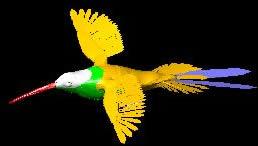 Planos de Pájaro 3d, en Animales 3d – Animales