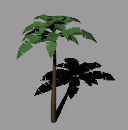 imagen Palmeira  - palmera 3d, en Palmeras en 3d - Arboles y plantas