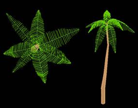 imagen Palmera en 3d, en Arboles en 3d - Arboles y plantas