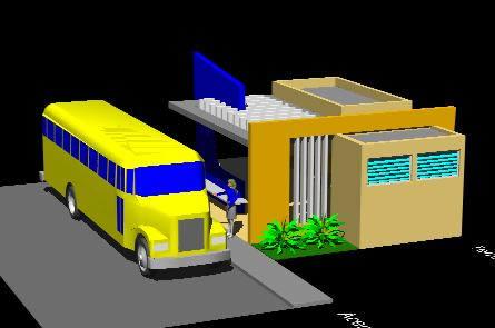 Planos de Parada de auto buses, en Proyectos varios – Proyectos