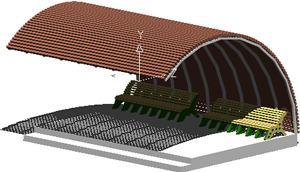 Planos de Paradero de micros, en Transferencia peatón – vehículo paradores – Equipamiento urbano