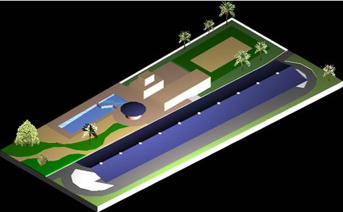 Planos de Parque 3d, en Proyectos – Parques paseos y jardines
