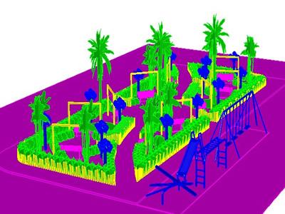 Planos de Parque, en Centros y parques recreativos – Proyectos