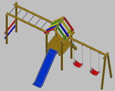 imagen Parques infantiles, en Equipamiento - Parques paseos y jardines