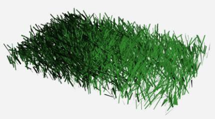 imagen Pasto 3d, en Arbustos en 3d - Arboles y plantas